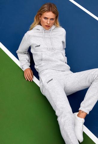 Hoodie sweatsuit with pants