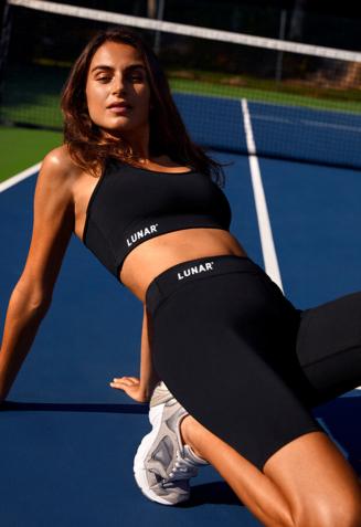 Sports tights short - S, Black