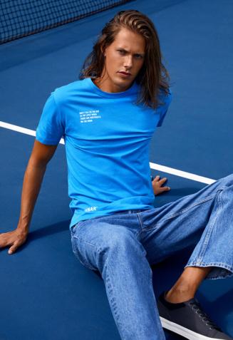 Statement t-shirt - XS, Blue